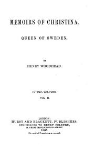 Memoirs of Christina  Queen of Sweden PDF