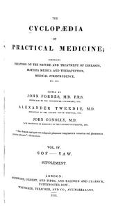 The Cyclopaedia of Practical Medicine: Comprising Treatises on the Nature and Treatment of Diseases, Materia Medica and Therapeuties, Medical Jurisprudence, Etc., Etc, Volume 3