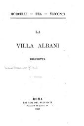 La Villa Albani descritta