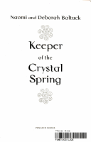Keeper of the Crystal Spring PDF