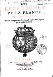 Des Recherches de la France ....