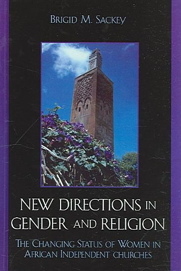 New Directions in Gender and Religion PDF