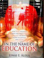 In the Name of Education PDF