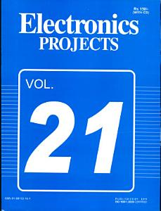 Electronics Projects Vol  21 Book