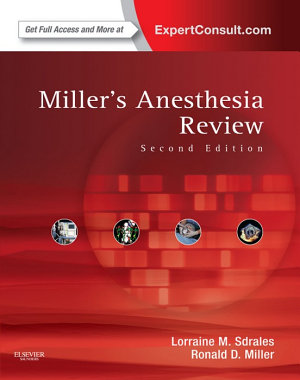 Miller s Anesthesia Review PDF