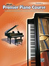 Premier Piano Course: Lesson Book 4