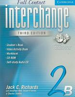 Interchange Third Edition Full Contact 2B PDF
