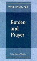 Burden and Prayer PDF