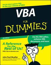 VBA For Dummies: Edition 5