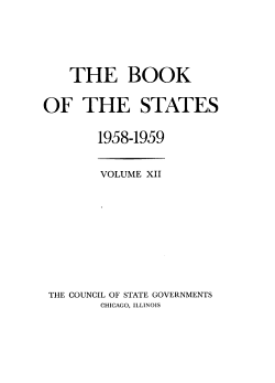 The Book of the States PDF