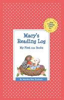 Macy's Reading Log: My First 200 Books (Gatst)