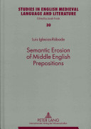 Semantic Erosion of Middle English Prepositions PDF