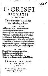 Historia de coniuratione Catilinae ...