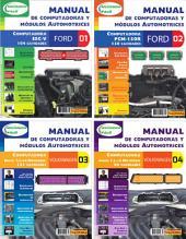 Manual de computadoras y módulos automotrices: Ford y Volkswagen