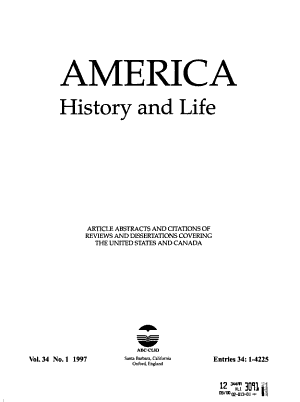 America, History and Life