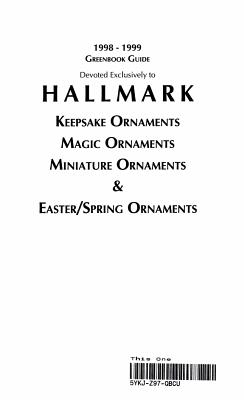 Greenbook Guide to Hallmark Keepsake Ornaments  Magic Ornaments  Miniature Ornaments    Easter Spring Ornaments PDF