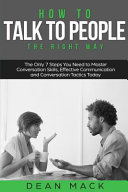 How to Talk to People