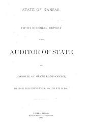 Biennial Report of the Auditor of State  and Register of State Land Office  for Fiscal Years     PDF