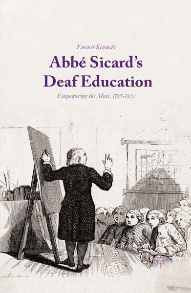 Download Abb   Sicard s Deaf Education Book