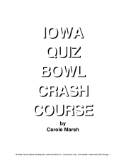 Iowa Quiz Bowl Crash Course  PDF