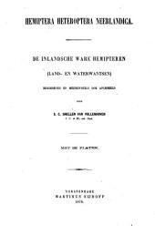 inlandsche ware Hemipteren (land en waterwantsen)