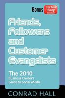 Friends  Followers  and Customer Evangelists PDF