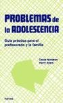Problemas de la adolescencia PDF