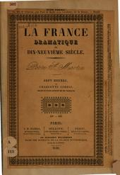 Sept heures, ou Charlotte Corday: drame en trois actes