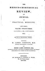 Medico chirurgical Review and Journal of Practical Medicine PDF