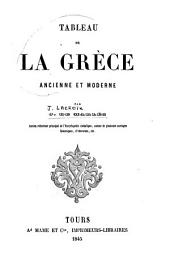 Tableau de la Grèce ancienne et moderne