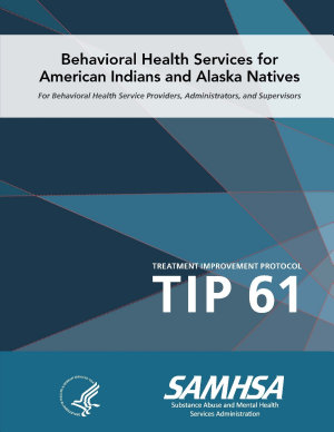 Tip 61   Behavioral Health Services for American Indians and Alaska Natives PDF