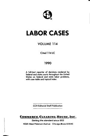 Labor Cases PDF