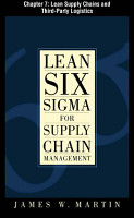 Lean Six Sigma for Supply Chain Management  Chapter 7   Lean Supply Chains and Third Party Logistics PDF