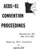 AEDS Proceedings