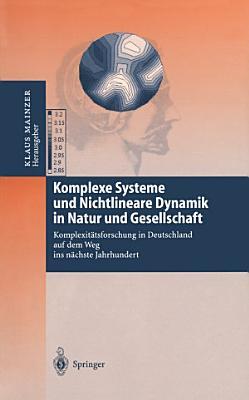 Komplexe Systeme und Nichtlineare Dynamik in Natur und Gesellschaft PDF