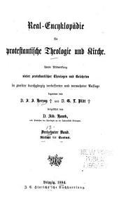 Real-encyklopädie für protestantische theologie und kirche: Band 13
