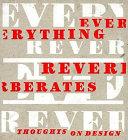 Everything Reverberates PDF