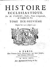 Histoire ecclesiastique: Volumes21à22