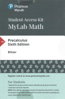 MyMathLab with Pearson EText -- Standalone Access Card -- for Precalculus