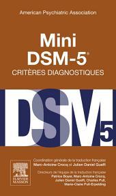 Mini DSM-5 Critères Diagnostiques: Édition 3