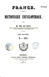 France. Dictionnaire encyclopédique: Volume 12