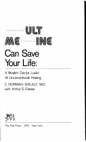 Occult Medicine Can Save Your Life PDF