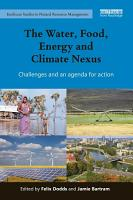 The Water  Food  Energy and Climate Nexus PDF