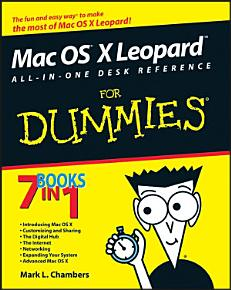 Mac OS X Leopard All in One Desk Reference For Dummies PDF