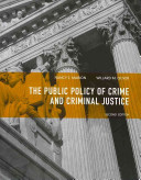 The Public Policy of Crime and Criminal Justice PDF