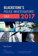 Blackstone s Police Investigators  Q a 2017 PDF