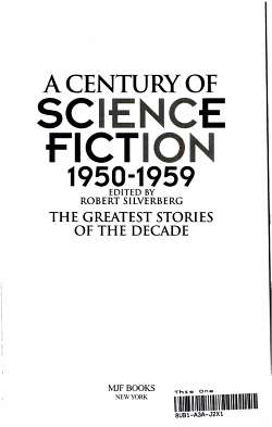 A Century of Science Fiction  1950 1959 PDF