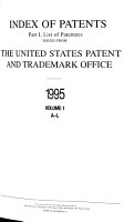 Index of Patents Issued from the United States Patent and Trademark Office PDF