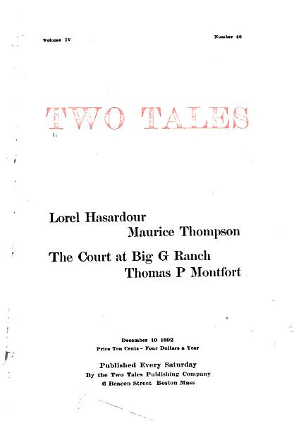 Download Two Tales Book
