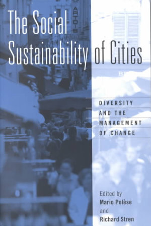 The Social Sustainability of Cities PDF